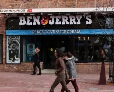 Ben And Jerry's Menu Prices [2021 Updated]