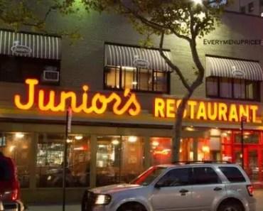 Junior's Restaurant Menu Prices [2021 Updated]