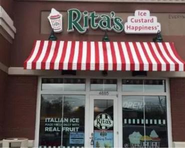 Rita's Italian Ice Cream Menu Prices [2021 Updated]