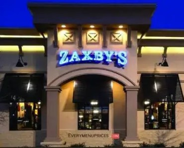 Zaxby's Menu Prices [Latest 2021 Updated]