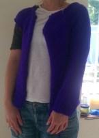 Purple cardi sleeve 1
