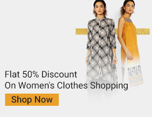 Ajio Offer : Get upto 50% off on Women's Kurtas