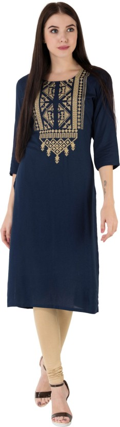 Flipkart: Anchy Casual Solid Women Kurti @Rs.98