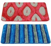 Amazon India : Story@Home Door Mat Combo Set of 2 - Red and Blue at Rs.329