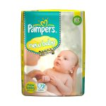 Amazon India : Pampers Active Baby New Born Diapers (72 Count) at Rs.729.30