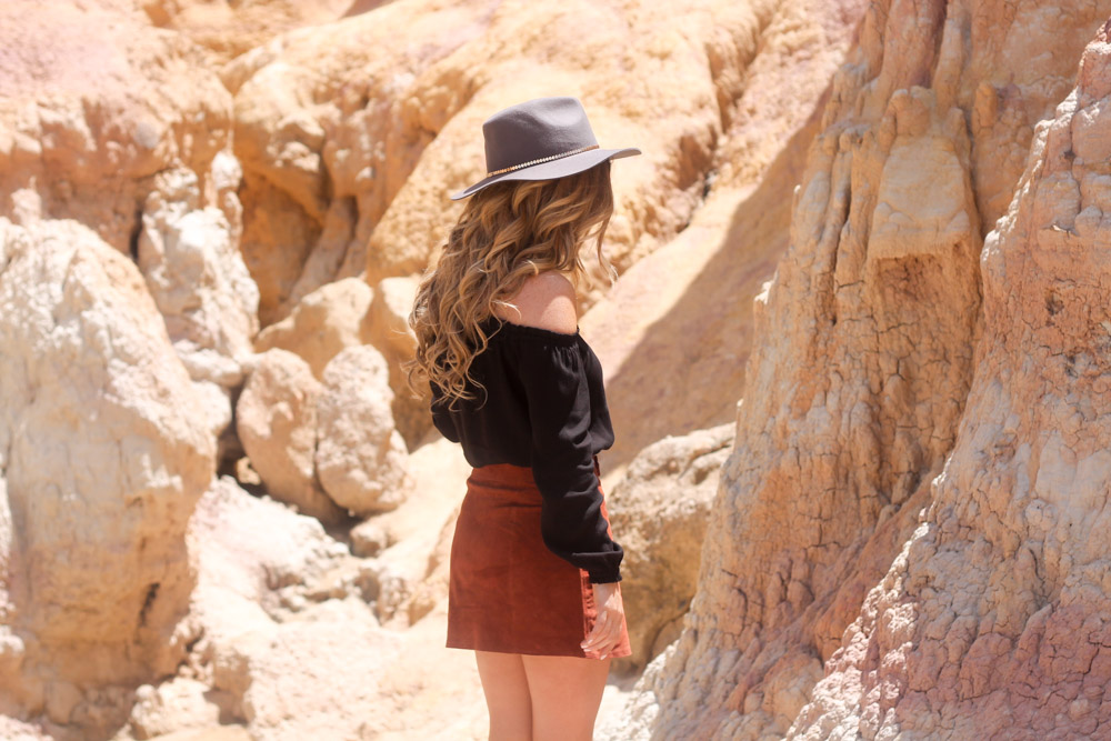 Irresistible Me hair extensions forever21 wool fedora