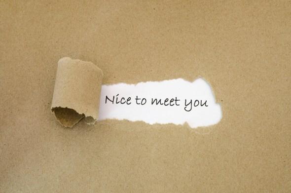 Nice to meet you text(よろしくお願いします)