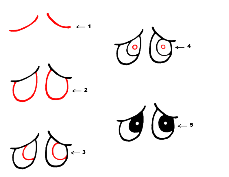 Animal Cartoon Eyes 9