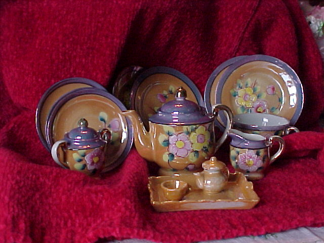 Friday Night Family Heirlooms… telling their stories: China Tea Set