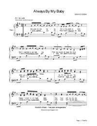 ALWAYS BE MY BABY CHORDS (Ver 2) by David Cook...