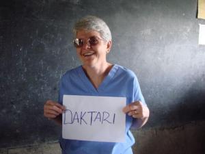 caring through medicine in Kenya