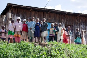 students after school in Kiti