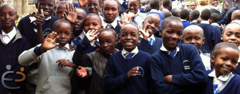 Greetings from students at Nakuru Teacher's Primary School!!