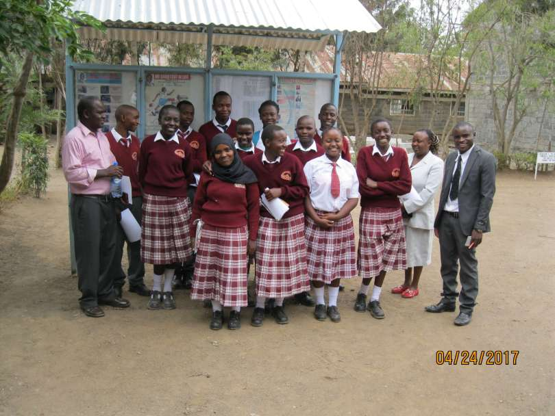 Educating students in Kenya