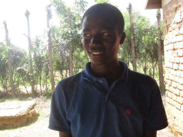 Martin - one of the students who sent a handwritten letter