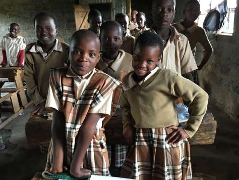 Everyone's Child Now: primary students in Kampi ya Moto