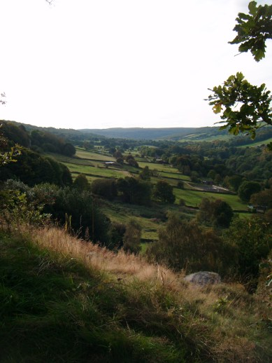 A view from the edge of Sheffield.