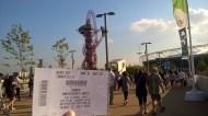 London Stadium and ticket