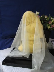 Beyonce cheese sculpture