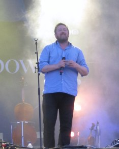 Guy Garvey of Elbow played a great set at The Isle of Wight Festival. I like the backlighting to this photo.