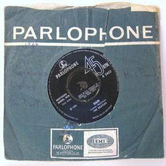The Beatles Rain single