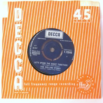 The Rolling Stones Let's Spend The Night Together single