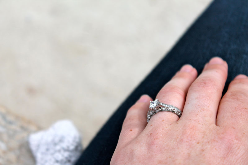 engagement ring, france
