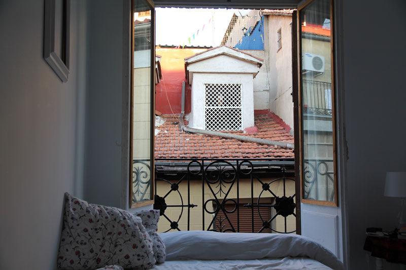 airbnb in madrid, spain
