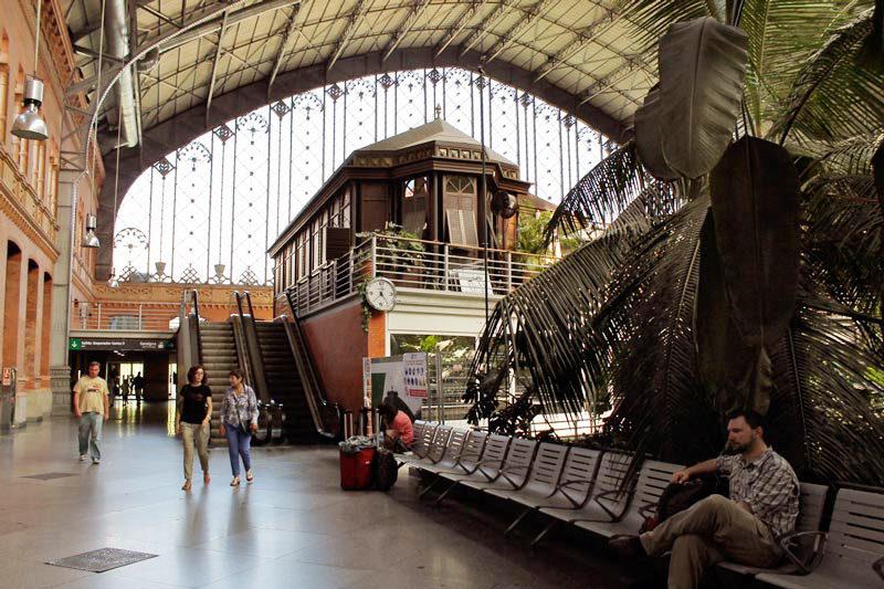 train station in spain