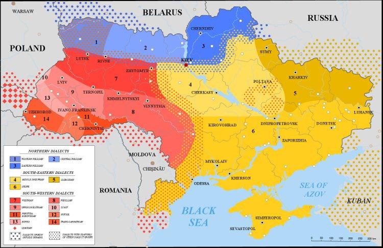 Languages Russian Ukraine 49