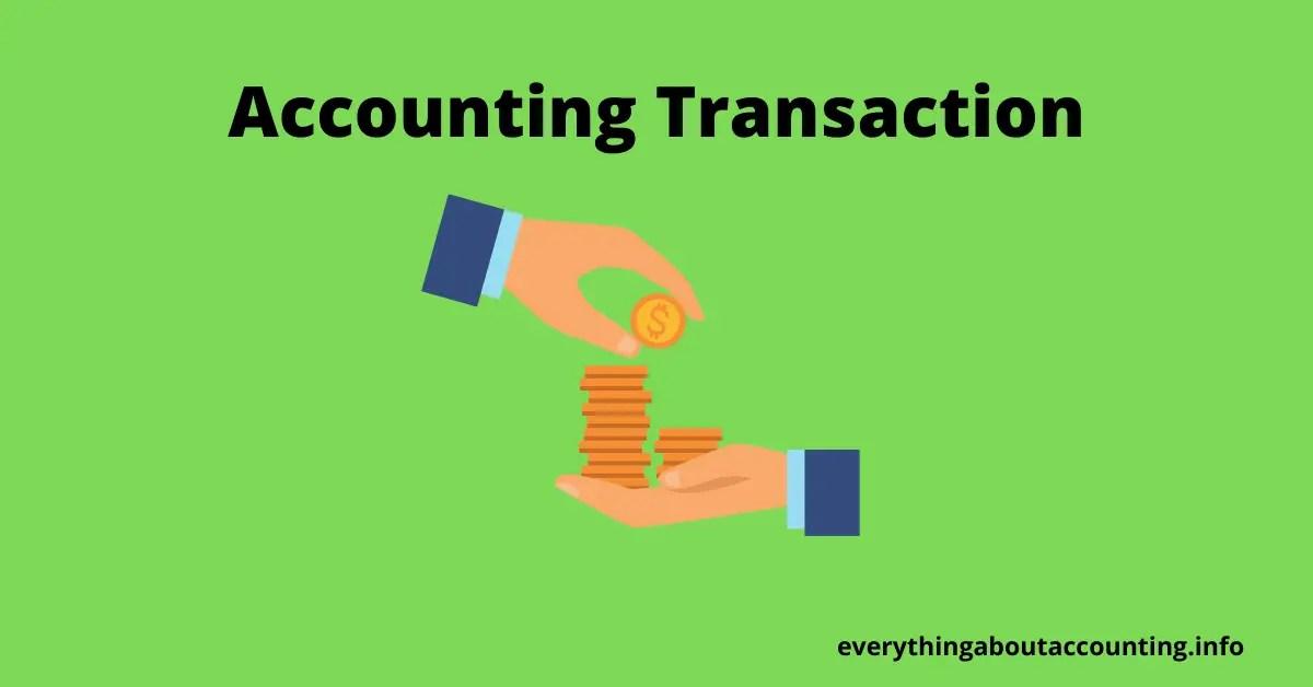Accounting Transaction