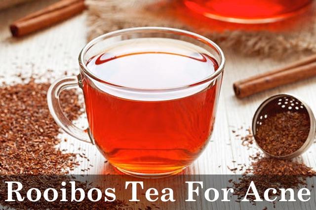 Rooibos Tea clear skin