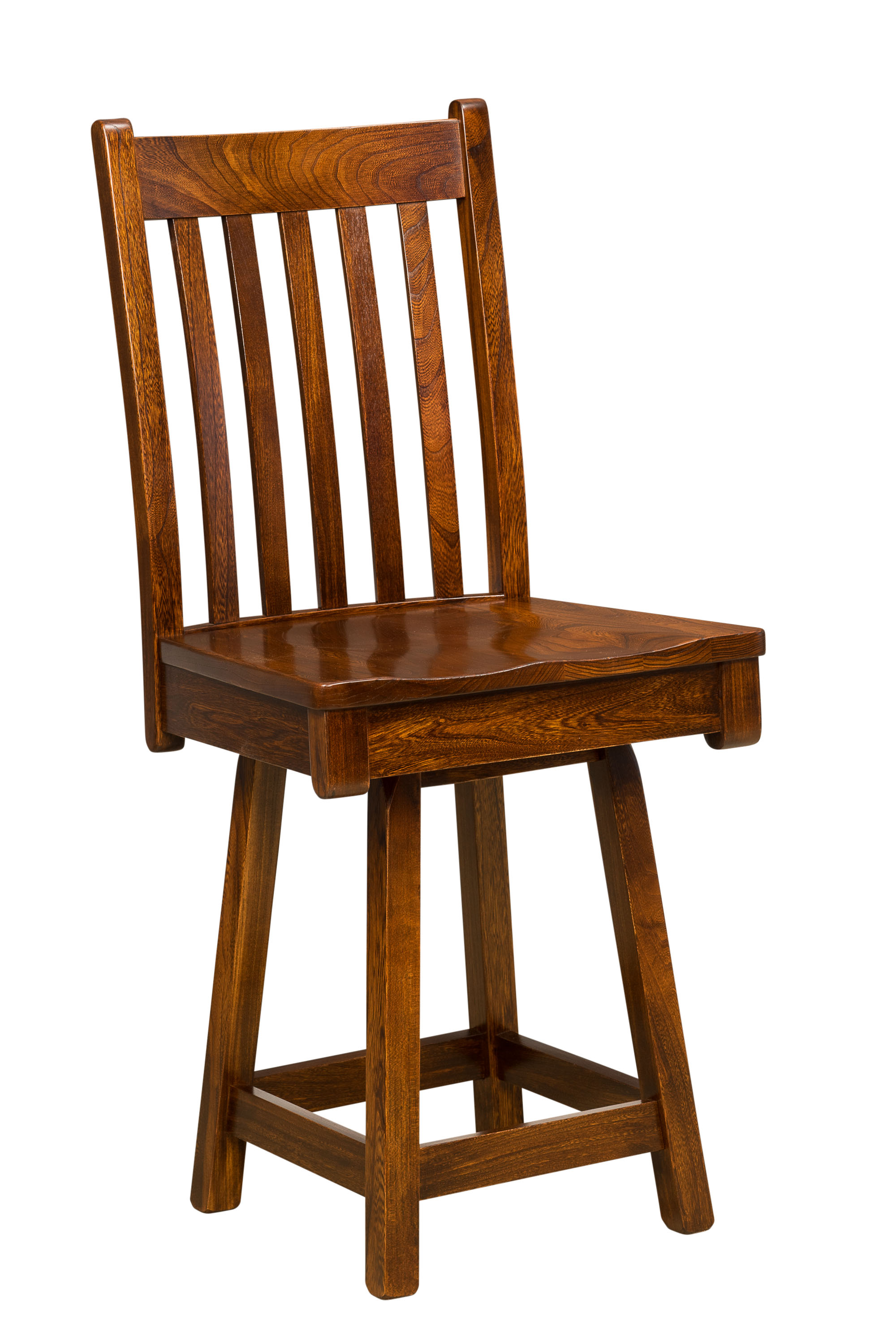 swivel chair regal fishing kmart bar stool everything amish chairs