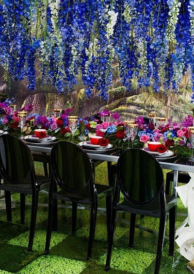 Sensational Color Themes For A Garden Wedding