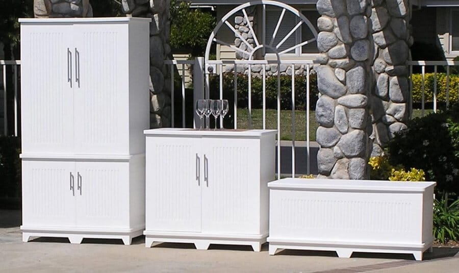 5 Easy Outdoor Storage Cabinet Ideas How to Build Your Own