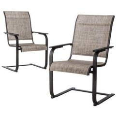 C Spring Patio Chairs High In Egypt 7 To Help Brighten Up Your Backyard Two Grey