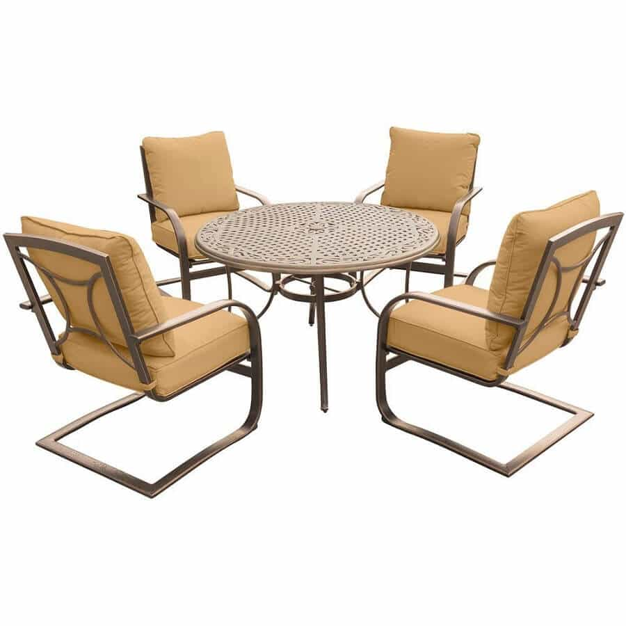 c spring patio chairs papasan chair stool cushions 7 to help brighten up your backyard furniture set for the