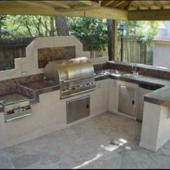 How To Make An Outdoor Kitchen Mini Kitchens Build With Metal Studs 15 Steps Construction Concrete Panels And Steel Stud Structure
