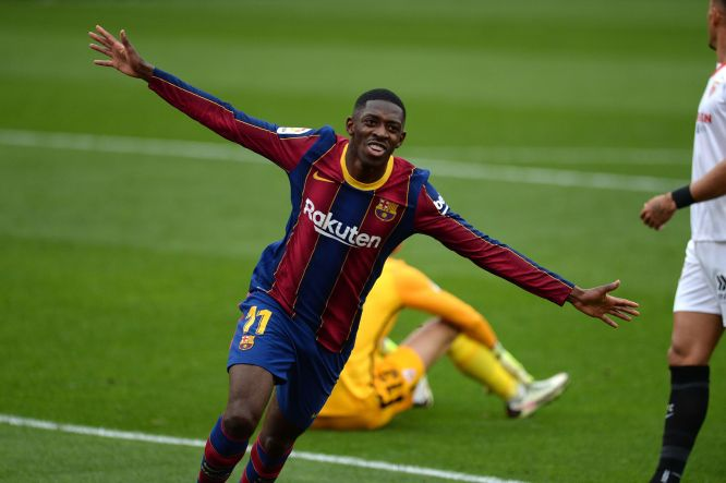 Barcelona: Ousmane Dembele reveals reason for great form