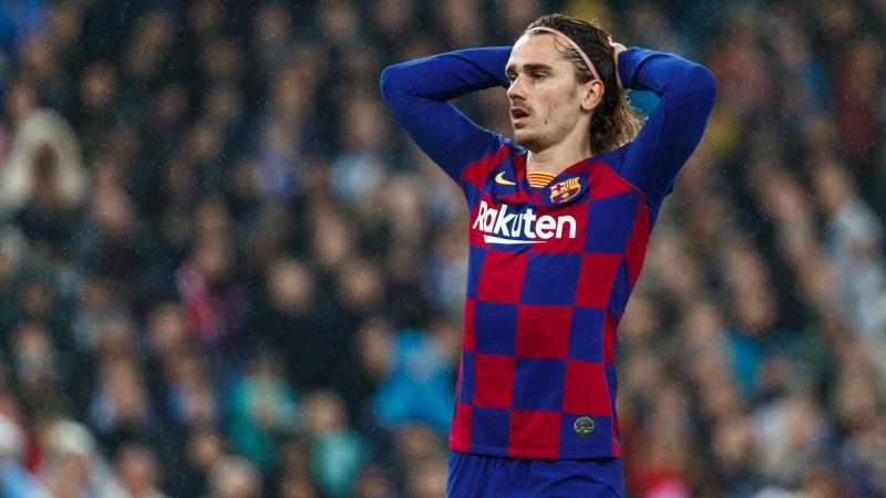Barcelona to drop Antoine Griezmann for El Clasico