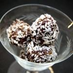 Recipe: Coconut Bliss Balls