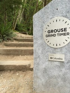 The start of the Grouse Grind