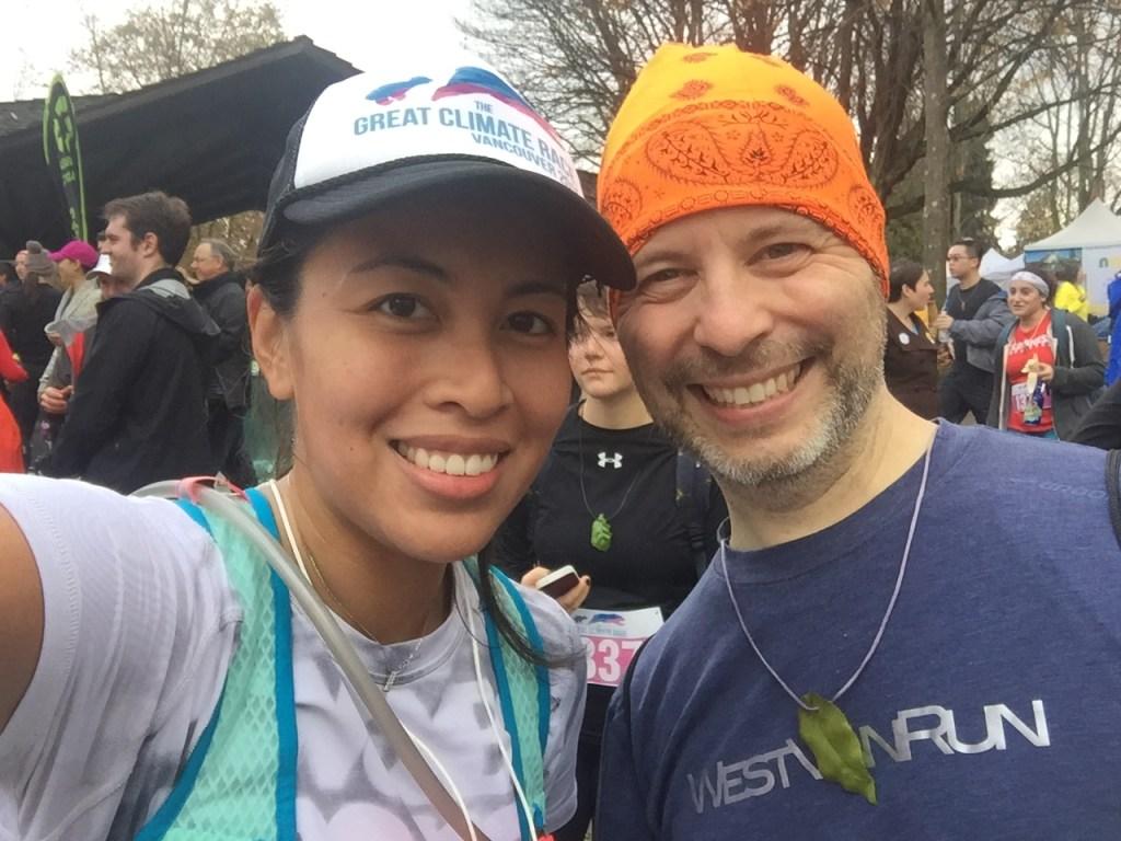 Selfie with Bradley on the Run