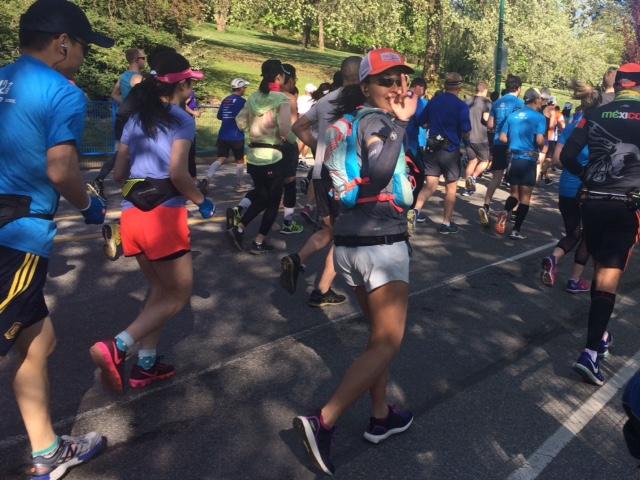 BMO Vancouver Marathon - courtesy Carmen Marin