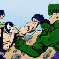 Marvel vs. DC: Incredible Hulk Battles Bane