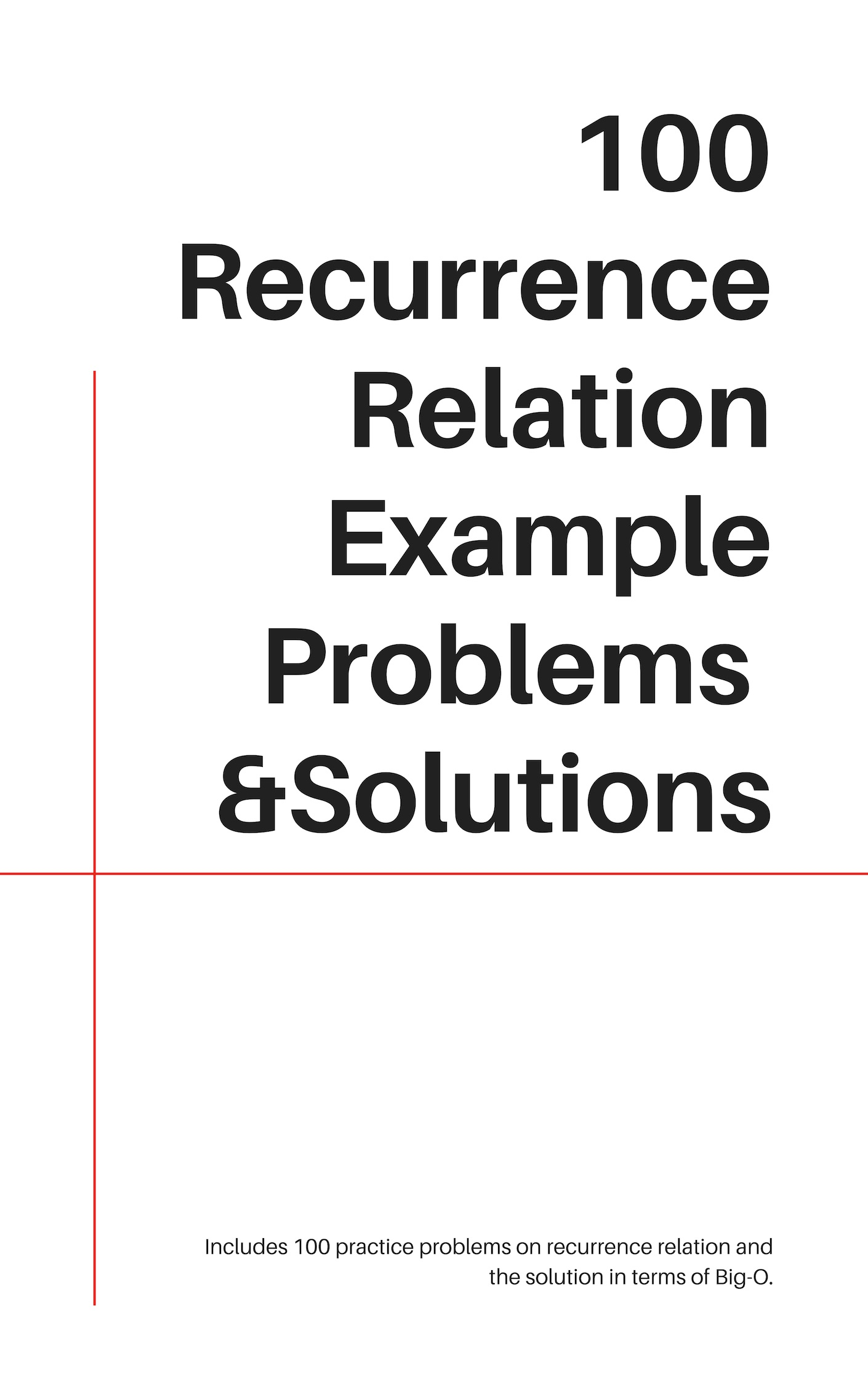 CS Recurrence Relations
