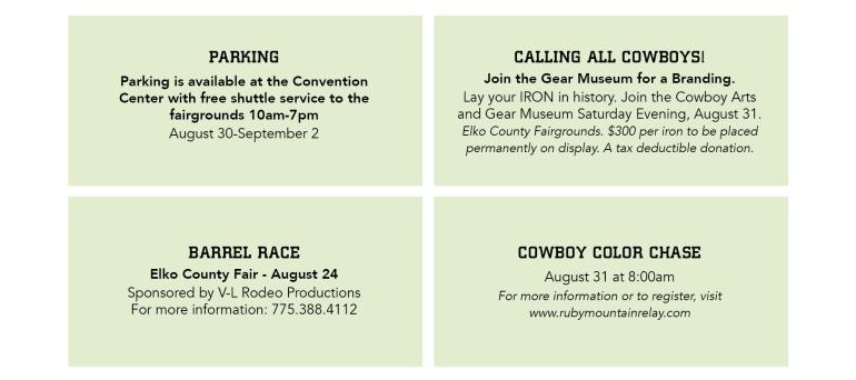 Elko County Fair Information