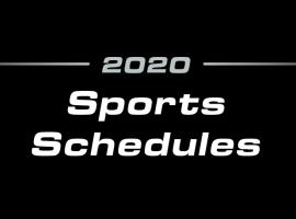 2020 Sports Schedules