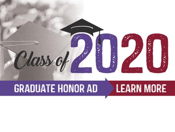 Class of 2020 Graduate Honor Ad