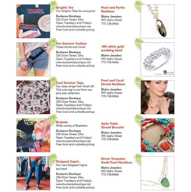 Christmas in July at Buckaroo Boutique and Blohm Jewelers